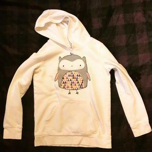 Mod Glitter Owl Hoodie Sweatshirt 🦉!